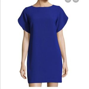 French Connection Aro Crepe Tulip Sleeve dress